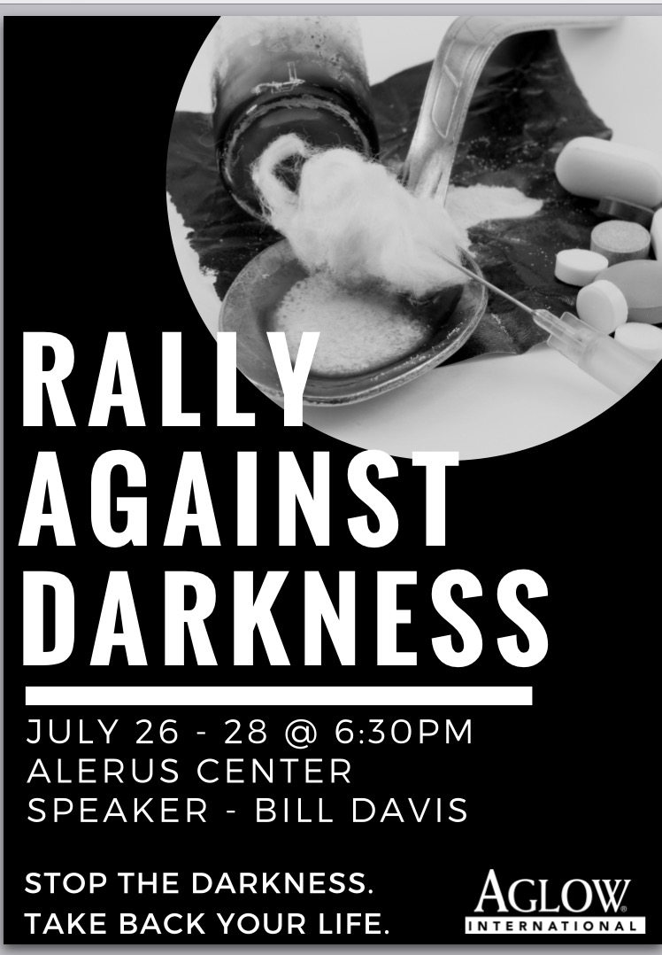 Aglow Grand Forks Rally Against Darkness @ Alerus Center Grand Forks | Grand Forks | North Dakota | United States
